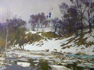 Весна на картинах русских художников.. Ярмарка Мастеров - ручная работа, handmade.