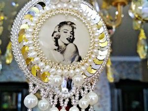Создаем очаровательный кулон «Мэрилин Монро». Ярмарка Мастеров - ручная работа, handmade.
