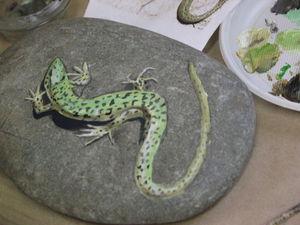 ФОТООТЧЕТ: Реалистичная роспись камней. | Ярмарка Мастеров - ручная работа, handmade