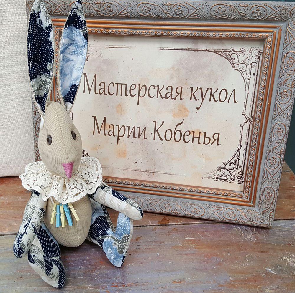 заяц, интерьерная игрушка, мишка тедди