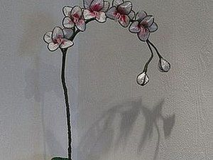 Great DIY: Orchid in the Technique of Ganutell. Livemaster - handmade
