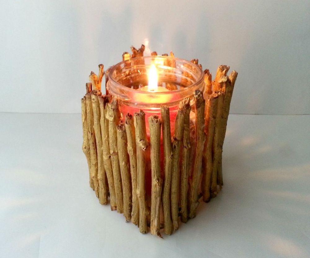 Как сделать подставки для свечек