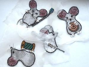 Мыши... | Ярмарка Мастеров - ручная работа, handmade