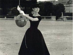 Платье ретро как у Одри Хепберн   Ярмарка Мастеров - ручная работа, handmade