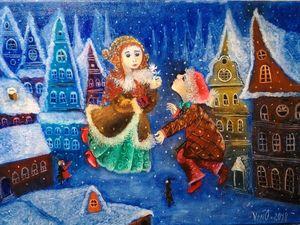 Новая картина  «В гостях у сказки». Ярмарка Мастеров - ручная работа, handmade.