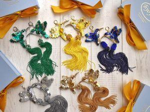 Новая коллекция: серьги-птицы в пяти роскошных цветах. Ярмарка Мастеров - ручная работа, handmade.