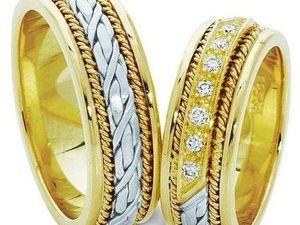 Предлагаем вам парные обручальные кольца серии Twin Set. Ярмарка Мастеров - ручная работа, handmade.