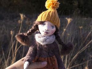 Моя первая куколка). Ярмарка Мастеров - ручная работа, handmade.