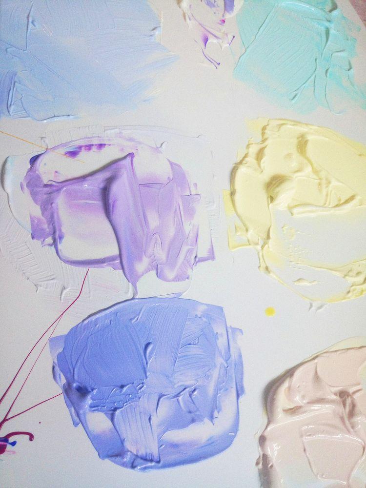 холст для живописи, как сделать подрамник, краски для художника