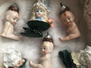 Старинные игрушки на елку. Ярмарка Мастеров - ручная работа, handmade.