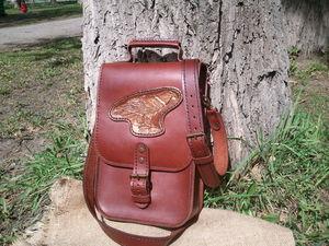 Видеоурок: пара секретов ручной прошивки кожаных изделий. Ярмарка Мастеров - ручная работа, handmade.