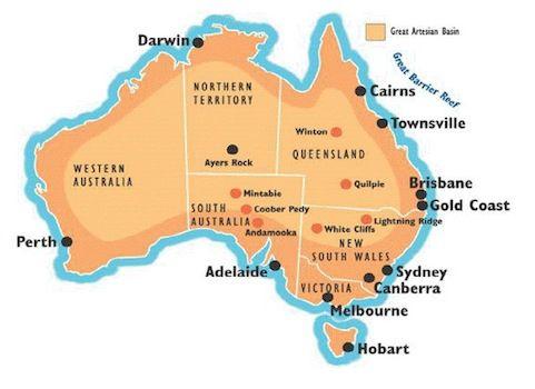 Австралийские опалы, фото № 1