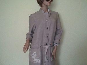 Летнее пальто или альтернатива. Ярмарка Мастеров - ручная работа, handmade.