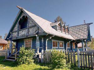 Резное великолепие: русские «пряничные» домики из дерева. Ярмарка Мастеров - ручная работа, handmade.
