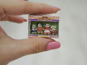 Видео мастер-класс: лепим миниатюру Sylvanian Families из полимерной глины. Ярмарка Мастеров - ручная работа, handmade.