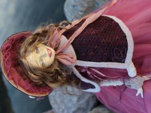 будуарная кукла. Ярмарка Мастеров - ручная работа, handmade.