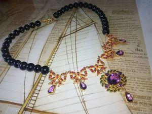 """Скидка 20% на жемчужное ожерелье """"Королева бала"""". Ярмарка Мастеров - ручная работа, handmade."""