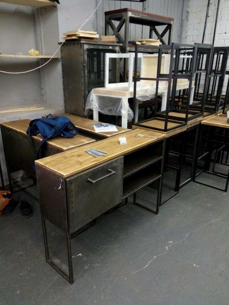 мебель лофт, дизайнерская мебель лофт