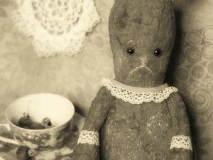 Красный заяц из моего детства. Ярмарка Мастеров - ручная работа, handmade.