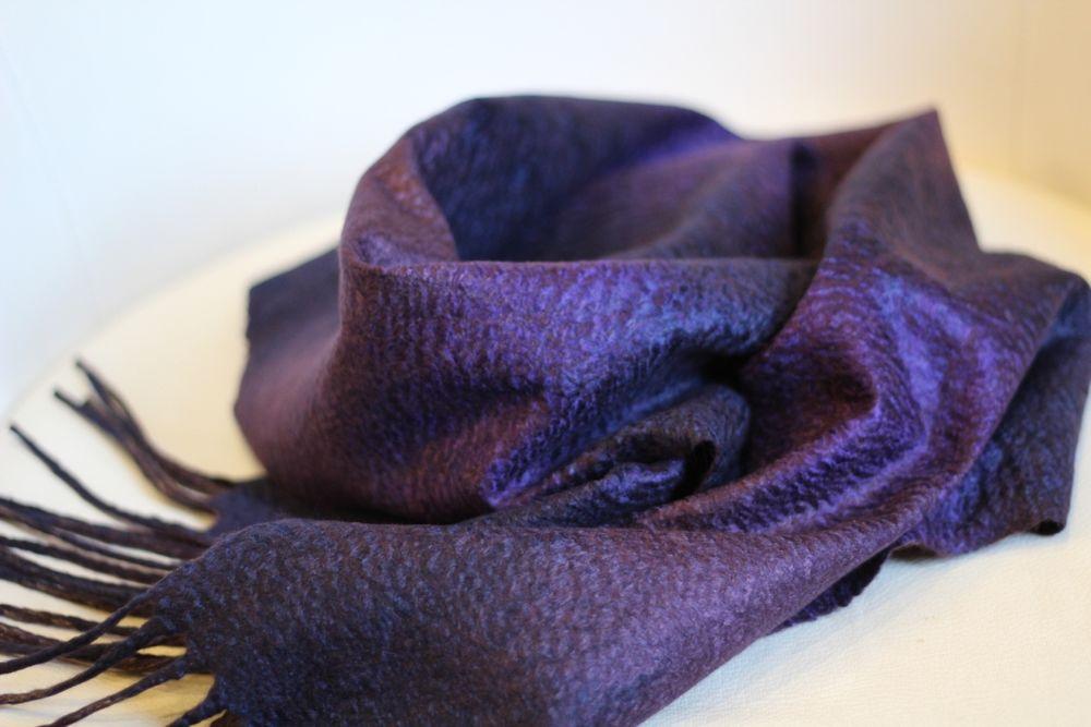 мк по валянию, мужские шарфы