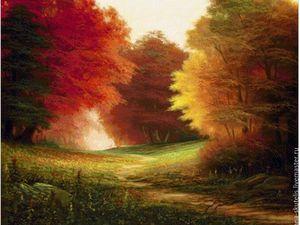 Осенний шедевр. Ярмарка Мастеров - ручная работа, handmade.
