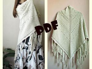 В продаже описания шалей!   Ярмарка Мастеров - ручная работа, handmade