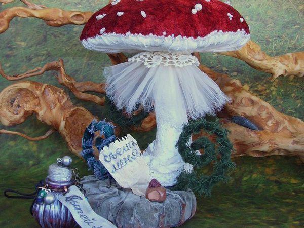 Почему грибы зимой?:))) | Ярмарка Мастеров - ручная работа, handmade