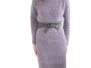 Моё новое вязаное платье | Ярмарка Мастеров - ручная работа, handmade