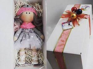 Приглашаю в Магазин мастера Упаковка, Москва, Коробки для кукол (gofrokraft). Ярмарка Мастеров - ручная работа, handmade.