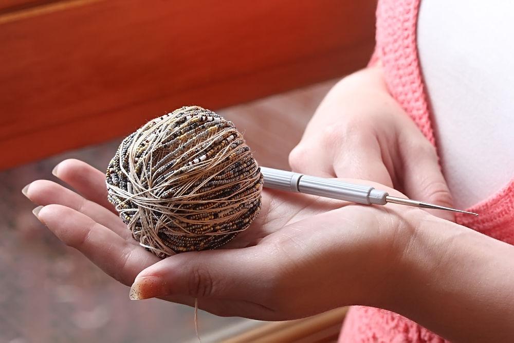 Вязание крючком ажурной короткой кофточки