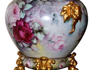 Фарфоровые предметы для цветов Лимож Limoges. Ярмарка Мастеров - ручная работа, handmade.