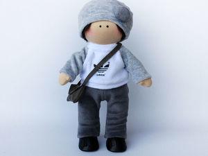 Новинка! Набор для пошива куколки мальчика. Ярмарка Мастеров - ручная работа, handmade.