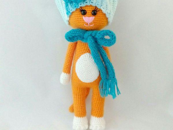 Мастер-класс по вязанию крючком Кошка Красавица | Ярмарка Мастеров - ручная работа, handmade