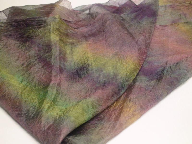 вебинар, нуноваляние, как покрасить волокна