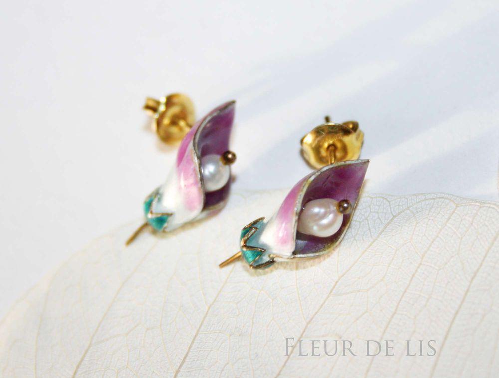 каллы, флора, art nouveau