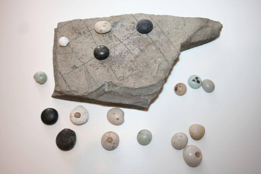археология, игральные фишки