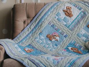 Осенняя распродажа детских одеял. Ярмарка Мастеров - ручная работа, handmade.