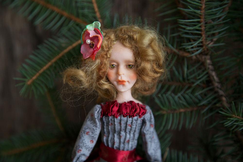Дополнительные фотографии куклы ручной работы Софии., фото № 11