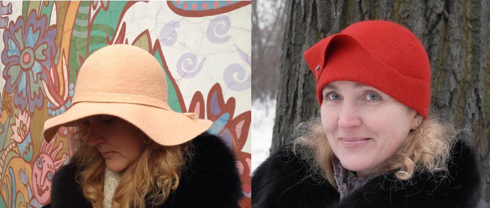 МК Натальи Сафоновой по валянию шляпы 15 октября, фото № 1