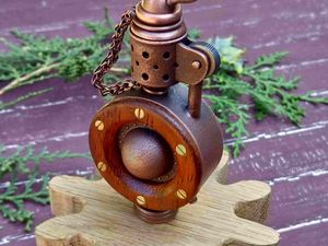 Видео стимпанк зажигалка Сатурн. Ярмарка Мастеров - ручная работа, handmade.