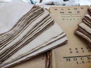 Чертёжный ватман применяемый для наших блокнотов , альбомов , книг ручной работы . | Ярмарка Мастеров - ручная работа, handmade