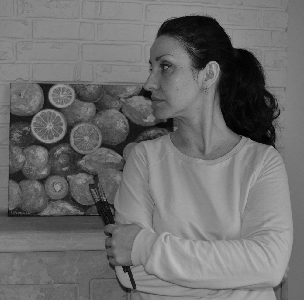 анна кшановская-орлова, живопись, масляная живопись, картина, картины, магазин тканей