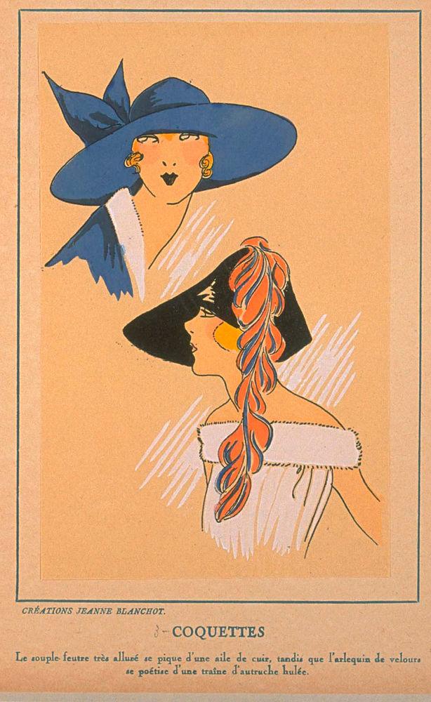 Ах, какие шляпки! Шляпная мода 1922 года по версии французского журнала «Les chapeaux du Tres parisien». Часть 2, фото № 24