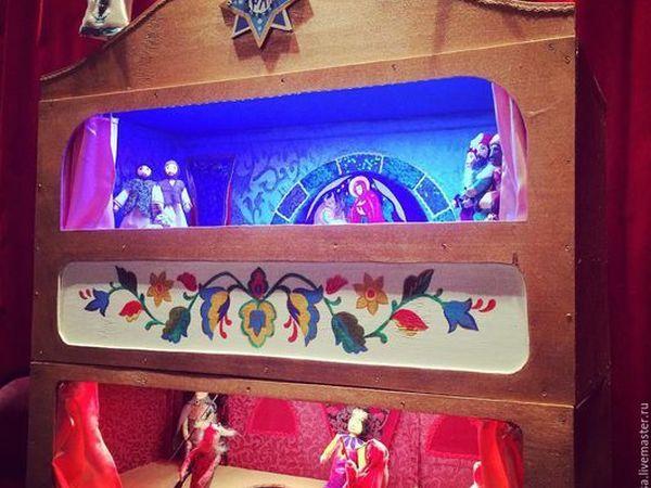 Рождественский вертеп - неисчерпаемый источник вдохновения для мастера кукол. | Ярмарка Мастеров - ручная работа, handmade