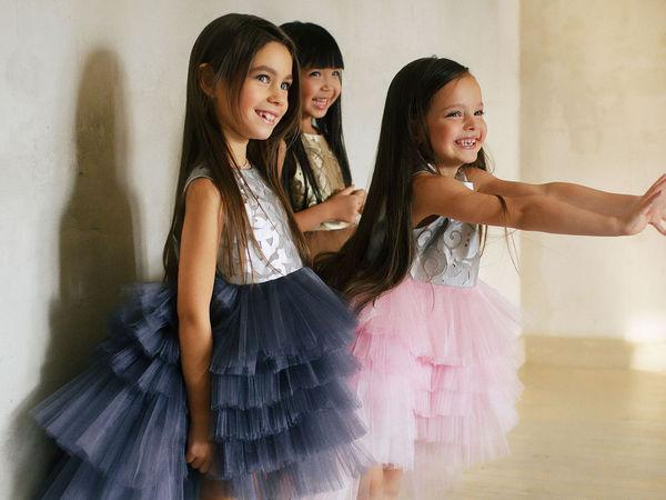 Платье для принцессы на Новый год! | Ярмарка Мастеров - ручная работа, handmade