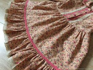 Детское платье из вельвета, принимаю заказы на пошив!. Ярмарка Мастеров - ручная работа, handmade.
