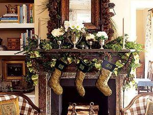 Натуральные шишки в праздничном декоре, или Новый год уже стучится!. Ярмарка Мастеров - ручная работа, handmade.