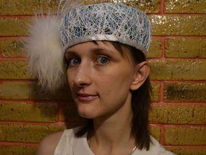 Как сделать шляпу Снежной Королевы. Ярмарка Мастеров - ручная работа, handmade.