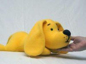 Желтый пёс ищет дом!. Ярмарка Мастеров - ручная работа, handmade.