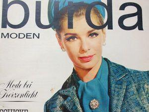 Burda moden 12/1962 Бурда Моден. Ярмарка Мастеров - ручная работа, handmade.